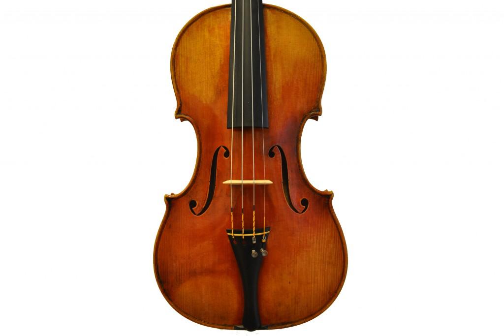 """Violine nach Giuseppe Guarnerius 'del Gesu"""", Il Cannone"""", Cremona (1743) (verkauft)Cannone-Decke-69"""