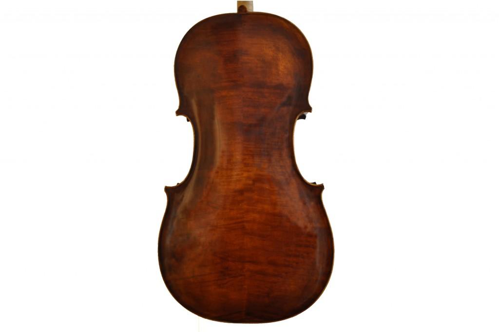 Barockcello nach Sympertus Niggel, Füssen (1778) (verkauft)Niggel-Cello-Boden